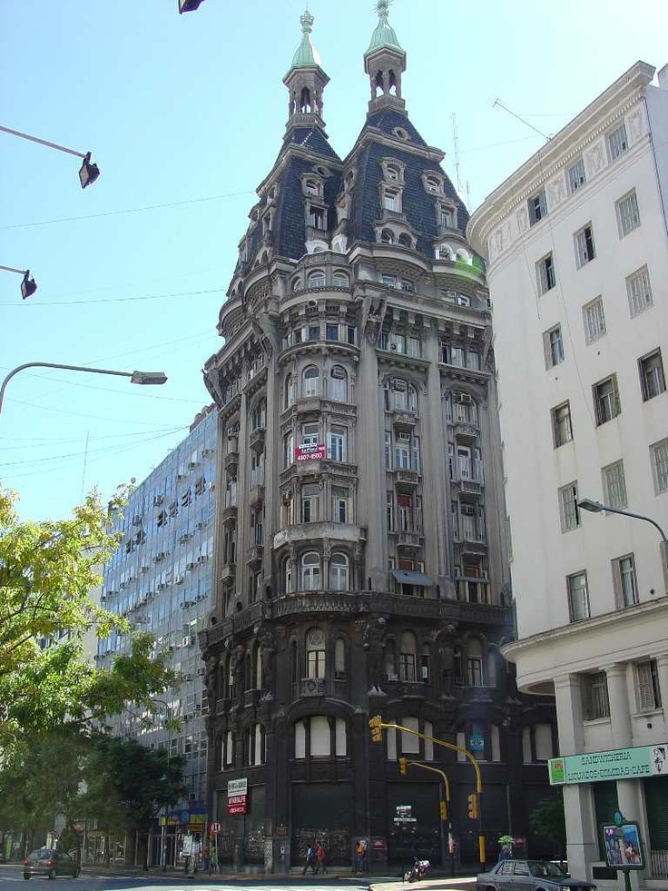 Peru y Belgrano el edificio, Otto Wulf,- Buenos Aires, Argentina