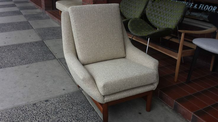 Danish Deluxe Armchair Restored and Recovered