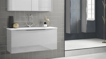 Halo bathroom furniture offers cutting-edge contemporary style for less