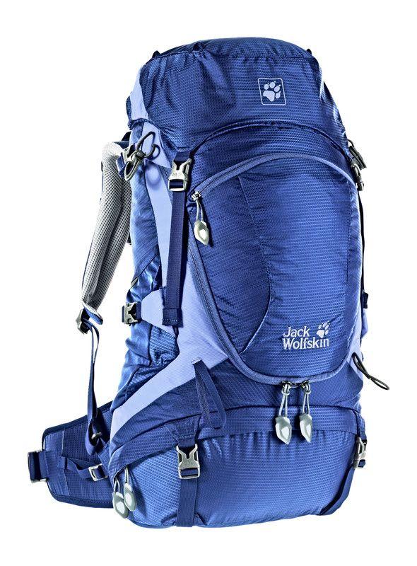"""Tourenrucksack """"Highland Trail 35 Women"""" Jack Wolfskin  Jetzt die Damen bitte: Ab auf die Wanderwege!  Gemäßigtes Volumen bei vollem Ausstattungspaket – das hat der Highland Trail 35 Women an Bord ..."""
