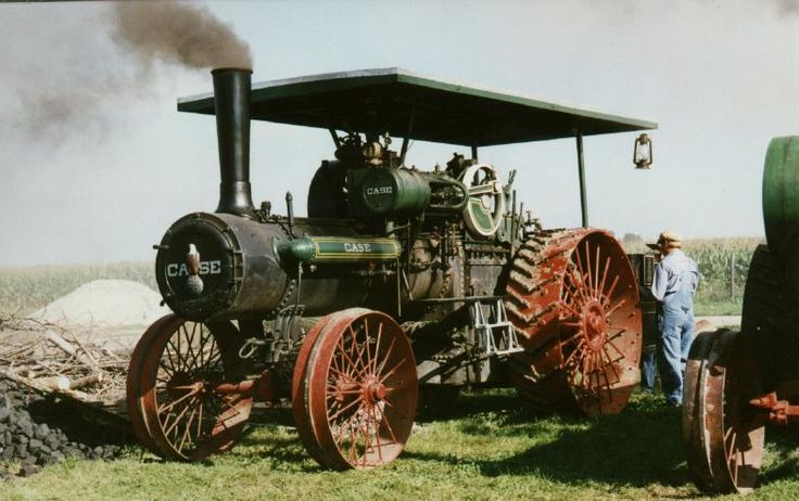 Steam Engine | 1923 Case Steam Engine | CottonwoodFarms.com