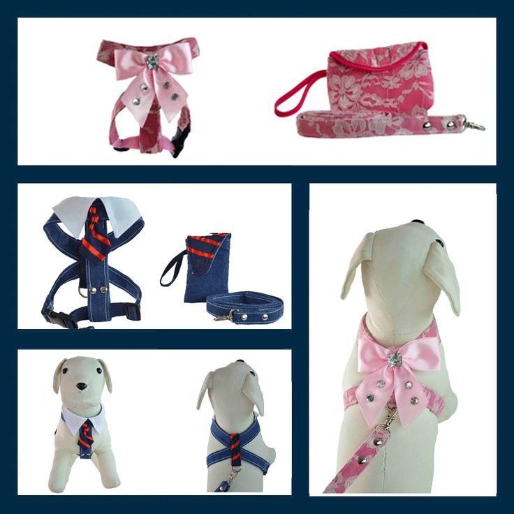Arnes para perros Modelo Bella y Williams son nuestros nuevos modelos para un paseo con estilo