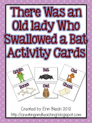 Freebielicious: There Was an Old Lady Who Swallowed a Bat!