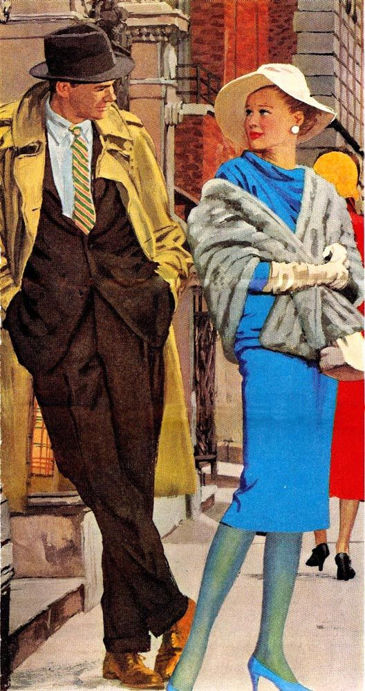 Austin Briggs (1908-1973)  —  Magazine Illustration, 1958  (528x1000)