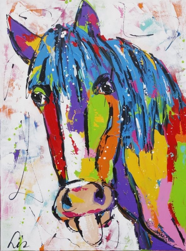 Schilderij van Liz