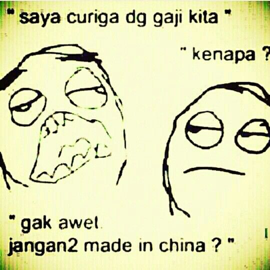Gak awet? Jgn2 made in china