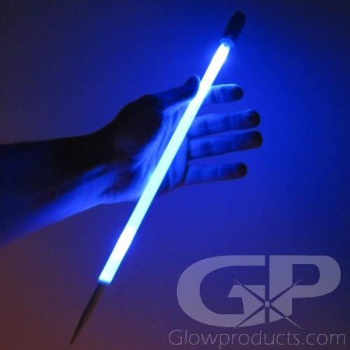 Glowing LED Light Stick Ground Marker for Night Golf and Glow Sports! #Glow #Golf #NightGolf #Sports