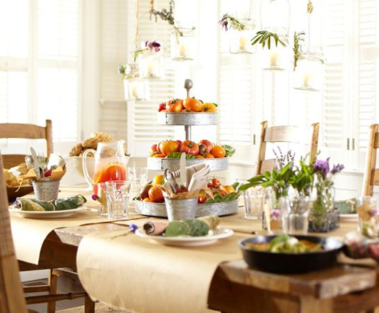 Farm house brunchBarns Living, Farmhouse Brunches, Tables Sets, Living Room Ideas, Sunday Brunches, Mason Jars, Brunches Recipe, Brunches Menu, Pottery Barns