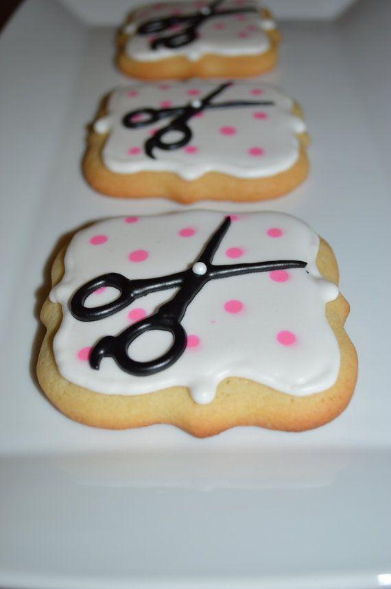 Beauty School Hair Salon Scissors Sugar by SugarBelleSweets
