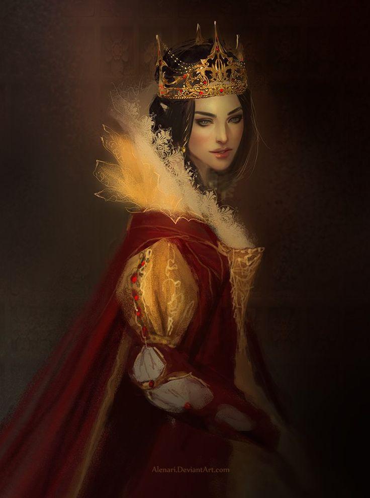 Gorgeous Fantasy Queen Wallpaper Images