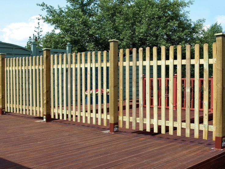 Round Top Palisade Panel - Pressure Treated Timber