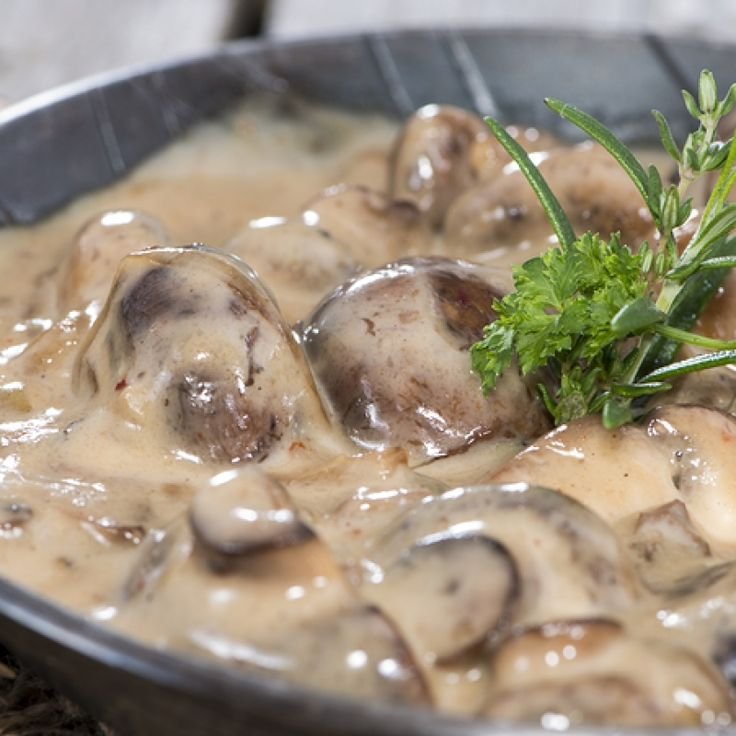 Mushrooms In Cream Sauce Is Great Served Over Pasta Or Ass A Gravy With Potatoes Mushrooms In