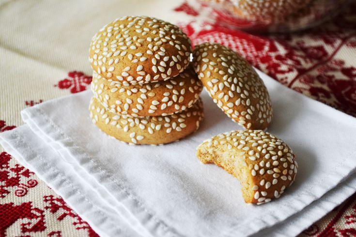 μπισκότα με ταχίνι και μέλι |