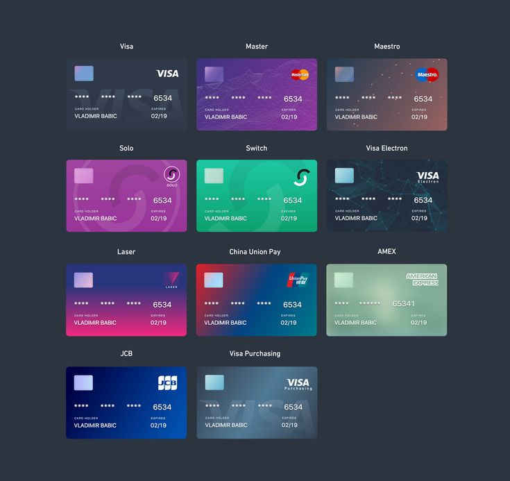 Pin by Sirws Asdy on App design layout Credit card