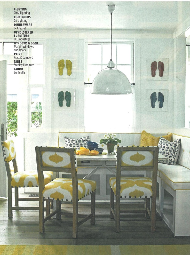 Breakfast Nook Light Fixture Breakfast Nook Pinterest