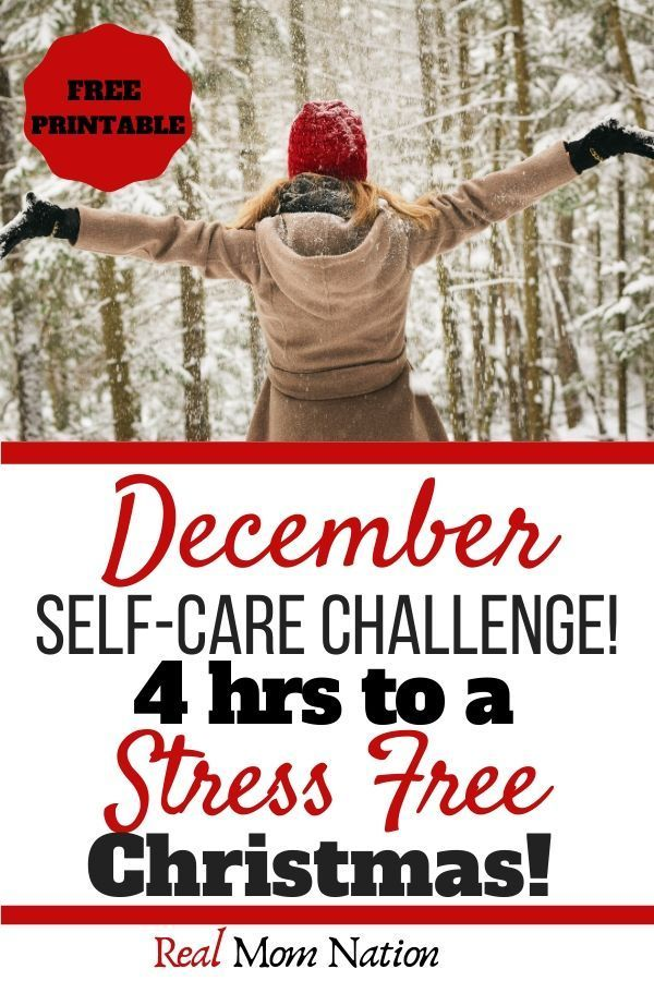 Christmas Challenge 4 2020 December Self Care Challenge: 4 Hours to a Stress Free Christmas