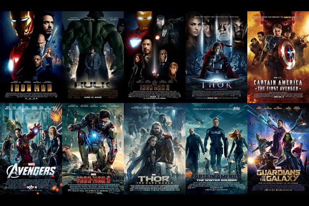 The correct order for watching Marvel movies. This is relevant for this month's binge watching!