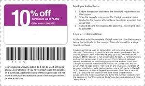 Lowes Coupons: Printable Lowes 10% off coupons