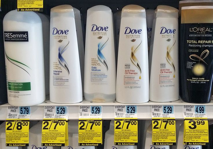 Dove Shampoo & Stylers, Only $0.50 at Rite Aid! week 6/12