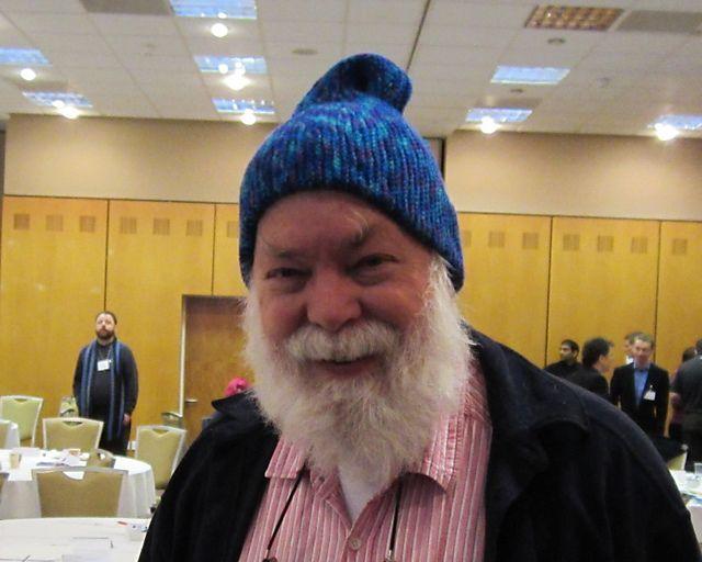David Singmaster's Klein Bottle Hat