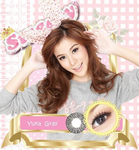 Coloured contact lenses Bigeye Natural Tones Yuka contact lenses bigeye Yuka_Gray Code: Yuka_Gray Brand: Sweety/Barbie Model: Yuka_Gray Soft Contact Lens Duration : 1 year Diameter(mm) : dia 14.5 Base Curve(mm) : B.c 8.60 Effect 16.0 Water content 38% Expire : 5 Years Manufactured by Dueba - Online Store Powered by Storenvy