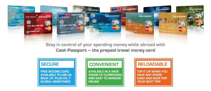 Travel Money Card – Carry your Foreign Currency Safely with Cash Passport Card
