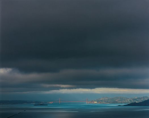 Richard Misrach:  4.9.00 7:49am  from the series Golden Gate