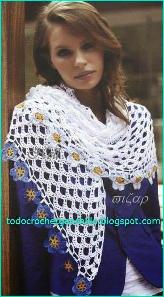 Todo crochet: Chal