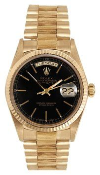 Rolex Rolex Presidential Black Dial