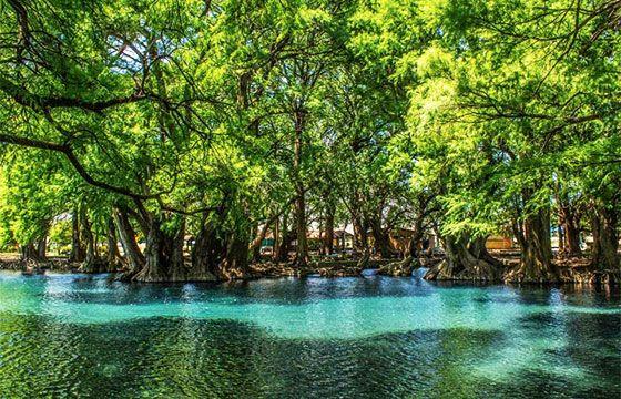 Lago de Camécuaro, Michoacán.