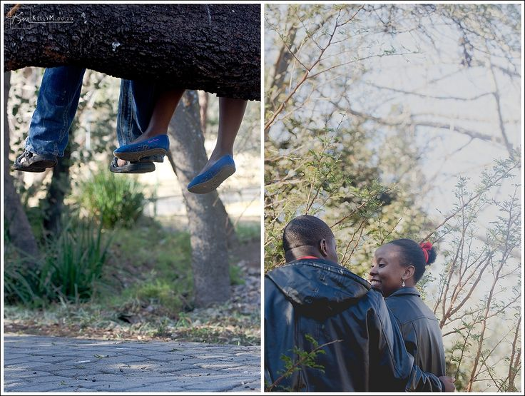 KellyM Wedding and Lifestyle Photographer captures engaged couple in a Randburg Photoshoot