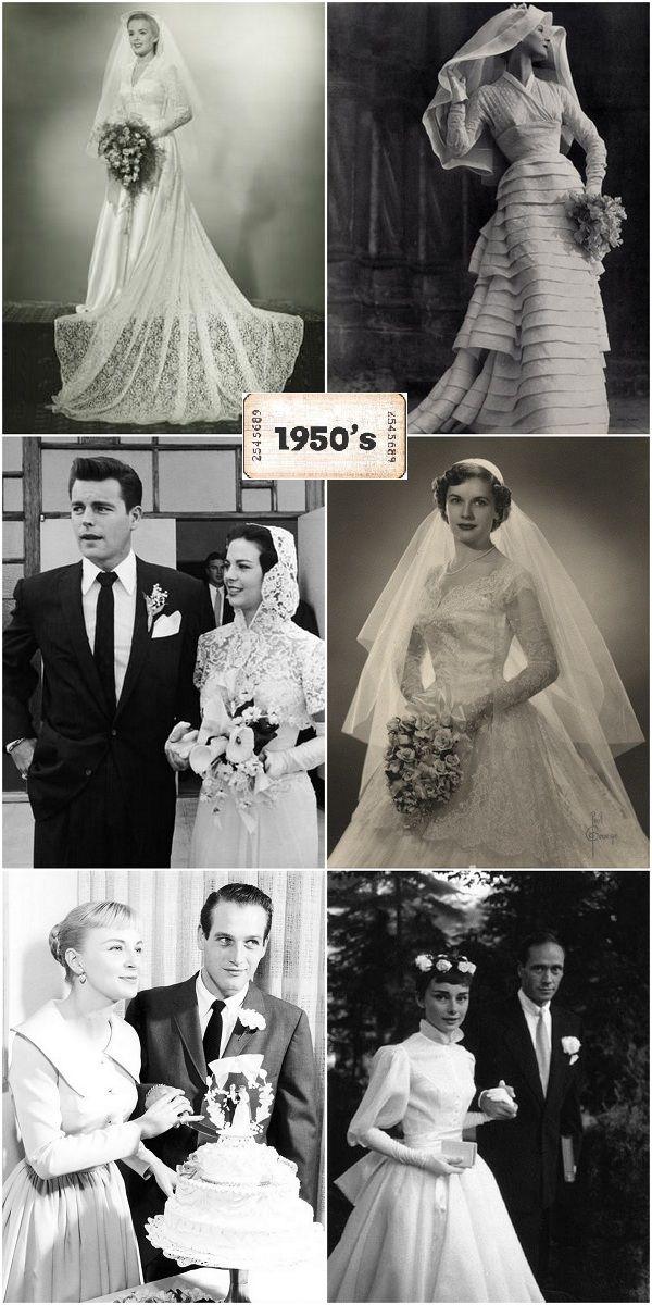 Vestidos de #novia de 1950