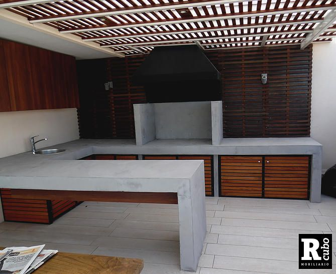 M s de 25 ideas incre bles sobre asadores de jardin en for Loft modernos exterior
