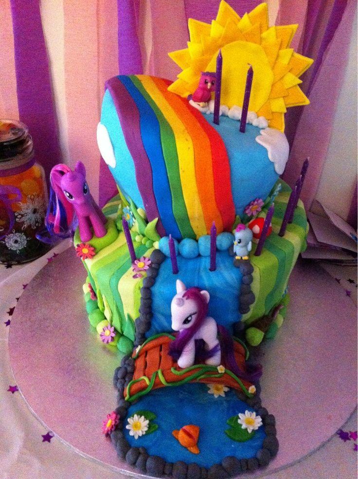 188 best My Little Pony Cakes images on Pinterest Birthday cakes