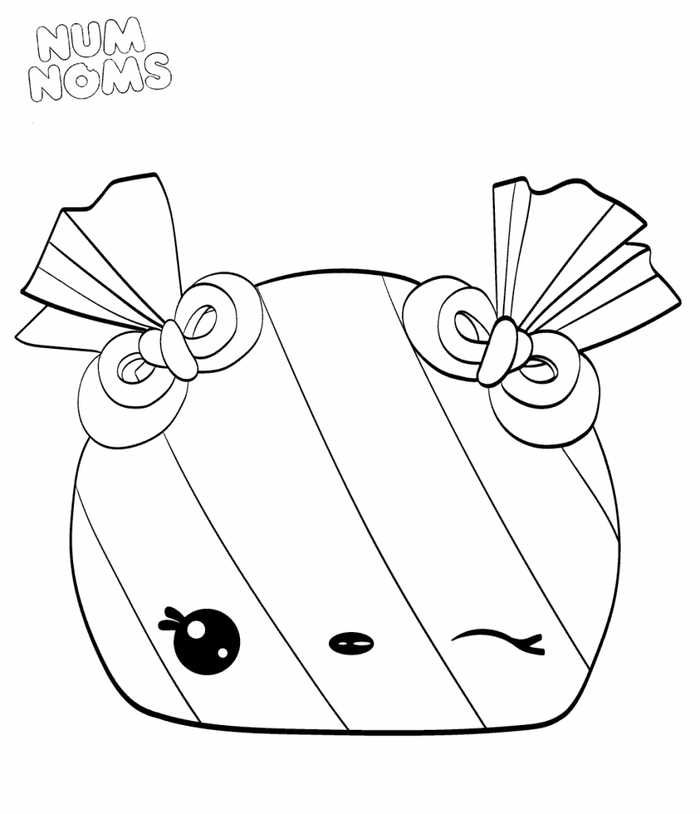 Printable Num Nom Coloring Pages Collection Disney Coloring