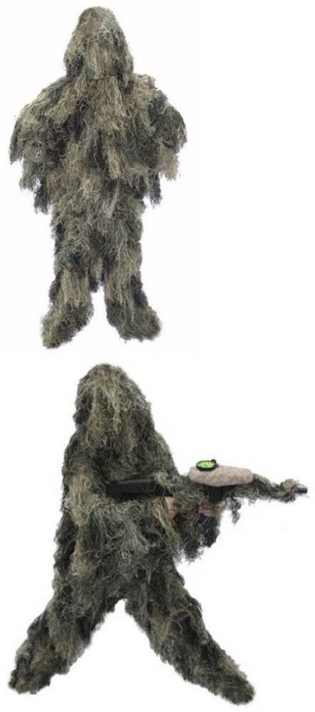 Ghillie Suits 177870: 3-Piece Full Body Camo Suit Military Stealth Hunting Forest Tactical Camouflage -> BUY IT NOW ONLY: $51.99 on eBay!
