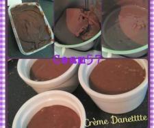 Recette Crème au Chocolat (meilleure que la Danette) !! par ceam57 - recette de la catégorie Desserts & Confiseries