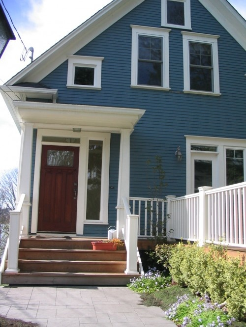 Best Blue House White Trim Dream Home Pinterest Dark 640 x 480