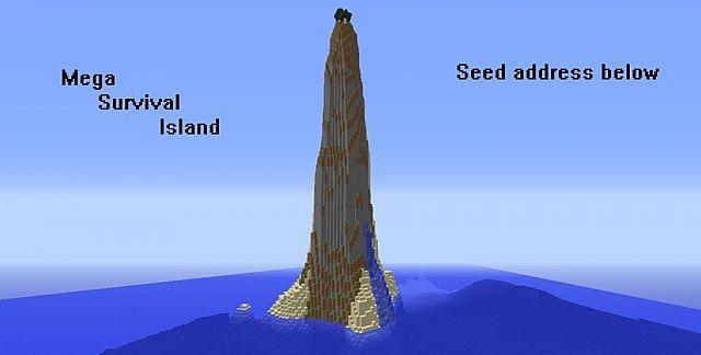 Mega Survival Island Seed!