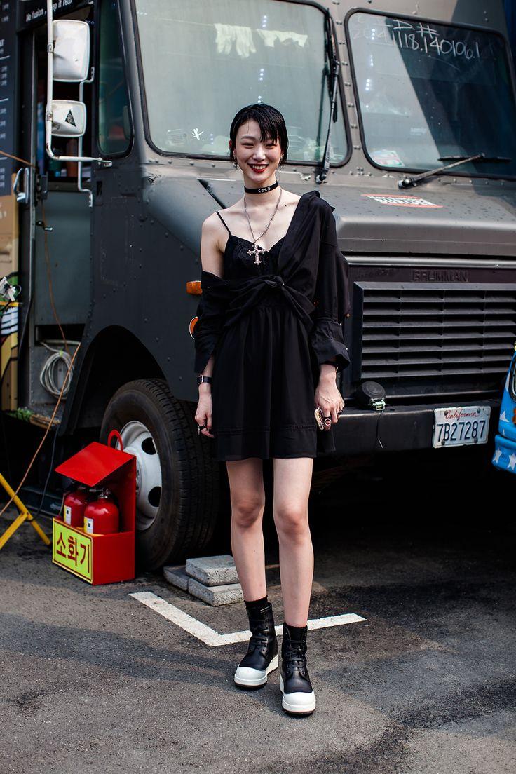 Street Style Choi Sora, Seoul