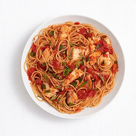 Spicy Pasta With Tilapia