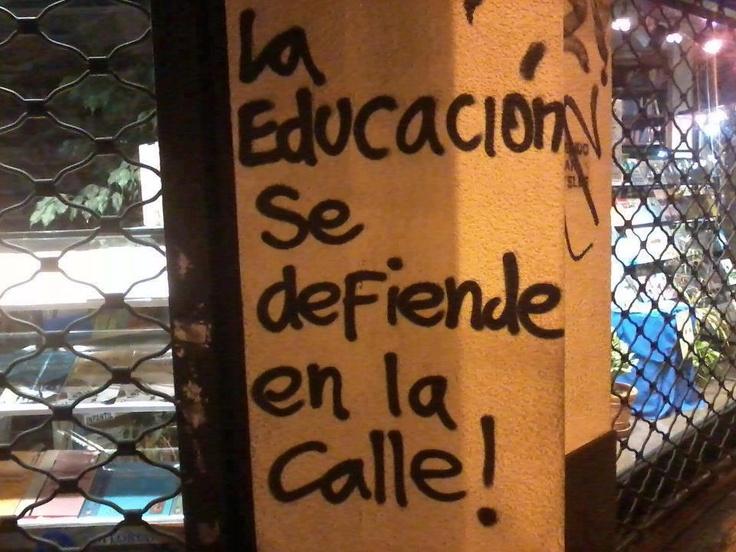 La educación se defiende en la calle
