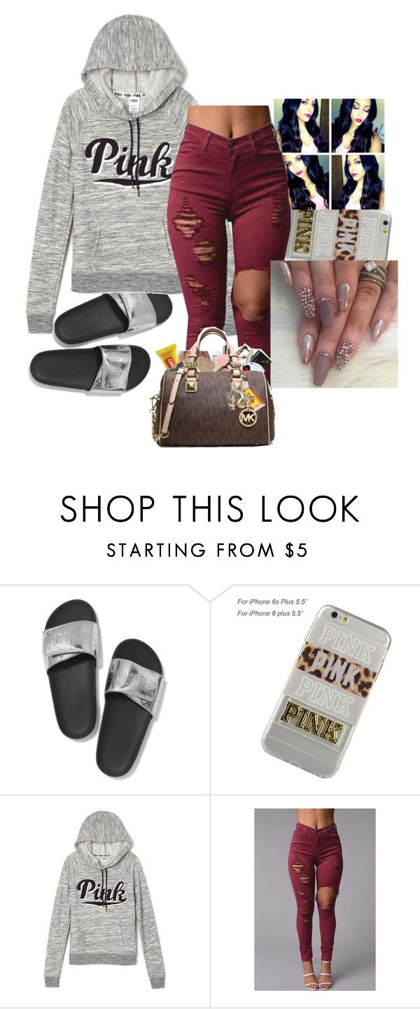 """""""11-17-16"""" by ashantisowell on Polyvore featuring Victoria's Secret"""