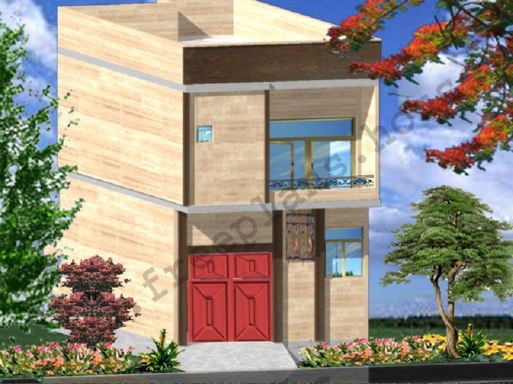 18x36 Feet House Design Model Plans Pinterest