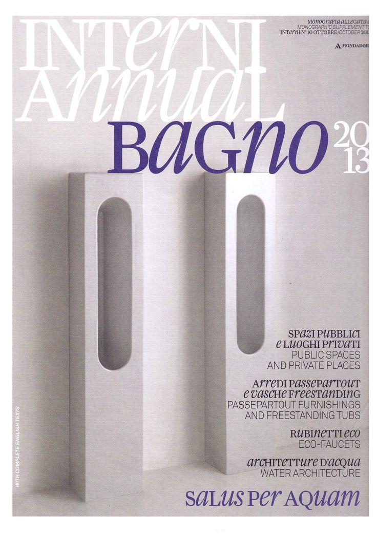 INTERNI, TRACE by Gianni Veneziano e Luciana Di Virgilio, September 2013 Valdama Press #Valdama #ceramics #GianniVeneziano #LucianaDiVirgilio #interiordesign #project #style