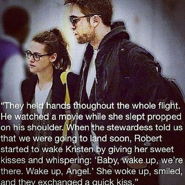 awwww. rob and kristen