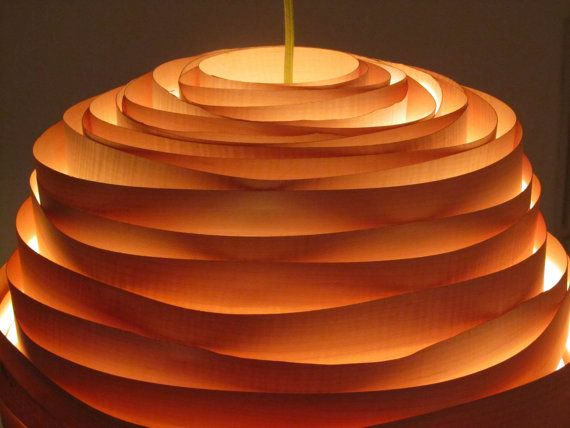 Light cloud veneer lampshade by vayehi on etsy 333 00