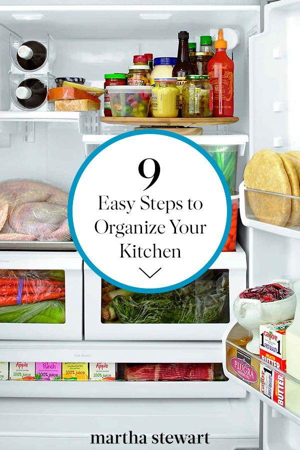 12 Easy Kitchen Organization Ideas For Small Spaces Kitchen Hacks Organization Kitchen Organization Home Organization