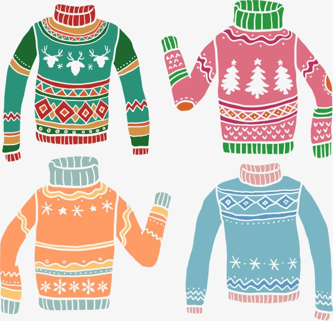 Hand Painted Pattern Vector Christmas Sweater Sweater Clipart Vector Hand Painted Png Transparent Clipart Image And Psd File For Free Download Christmas Sweaters Christmas Vectors Painting Patterns