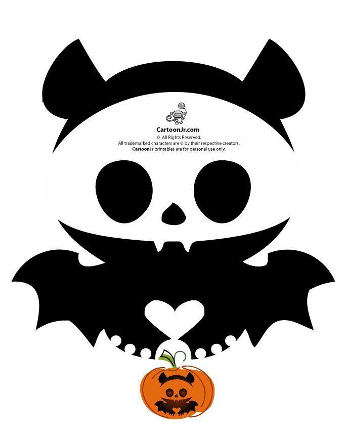 The 25 best pumpkin stencils free printable ideas on pinterest cute bat pumpkin carving stencils pronofoot35fo Choice Image
